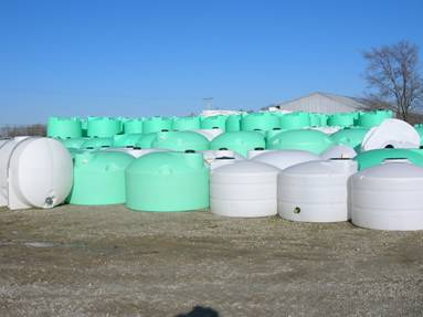 Poly Storage Tanks