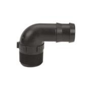 Banjo Hose Barbs Schedule 80 Poly Male 90 Degree